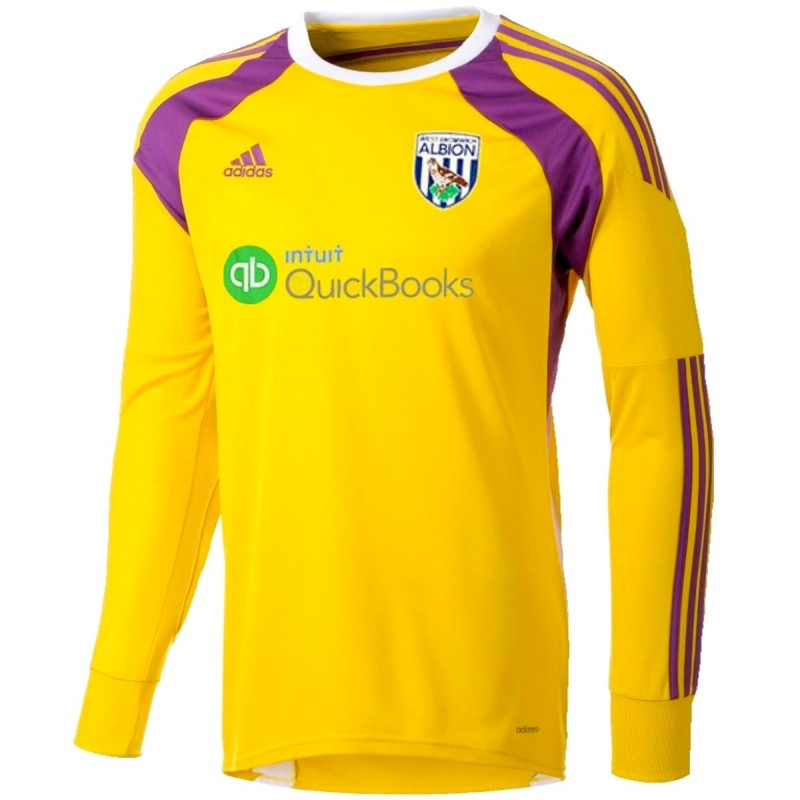 west bromwich albion home goalkeeper shirt 201415