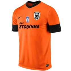 PAOK Thessaloniki 3rd fußball trikot 2013/14 - Nike