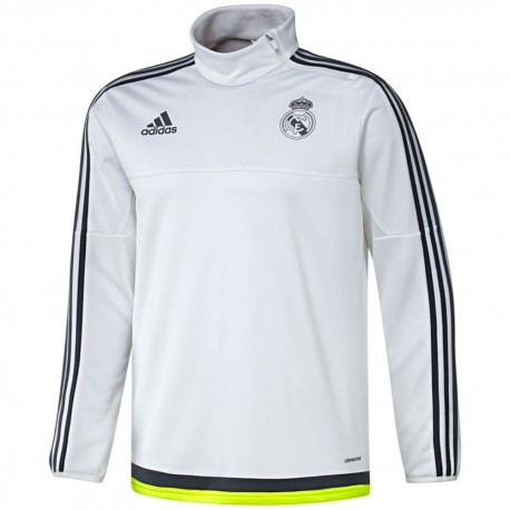 aa74287ff Real Madrid white training technical top 2015 16 - Adidas ...