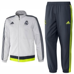Real Madrid presentation tracksuit 2015/16 - Adidas