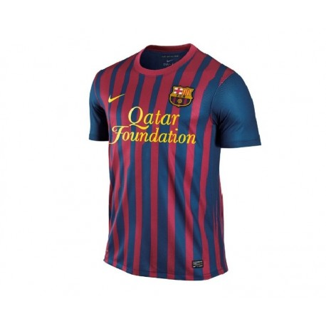 FC Barcelona Home Jersey 11/12 carrera jugador convalidable por Nike