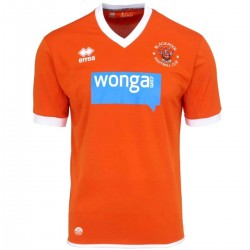Blackpool FC Home fußball trikot 2014/15 - Errea