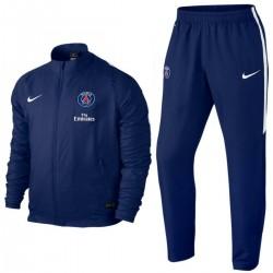 Survetement de presentation PSG Paris Saint Germain  2015/16 bleu - Nike