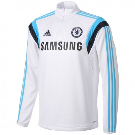 FC Chelsea white technical training top  2014/15 - Adidas