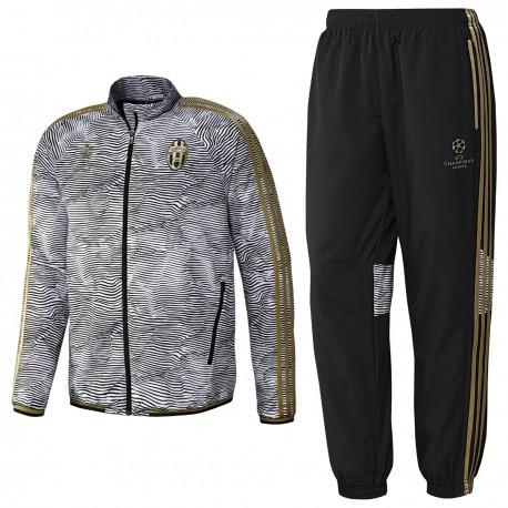 Survetement de presentation Juventus Champions League 201516 Adidas SportingPlus Passion for Sport