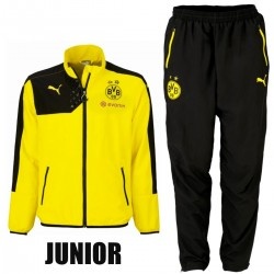 JUNIOR - Survetement de presentation BVB Borussia Dortmund 2015/16 - Puma