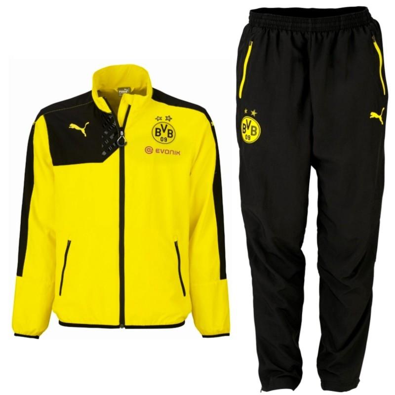 BVB Borussia Dortmund Präsentation Trainingsanzug 201516