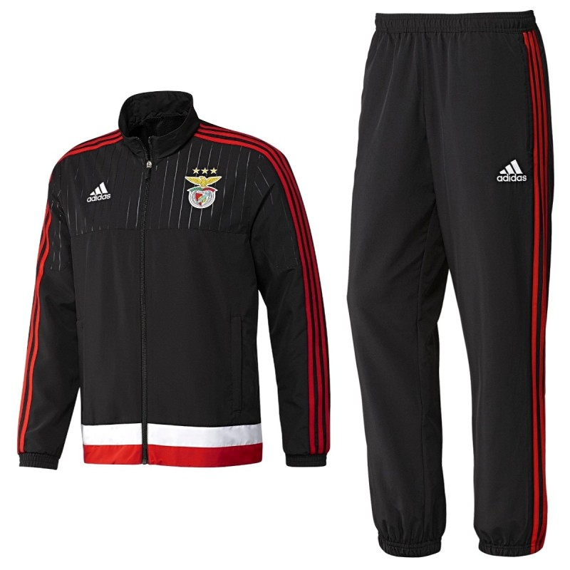 e01fc0f34755 SL Benfica presentation tracksuit 2015 16 - Adidas - SportingPlus ...