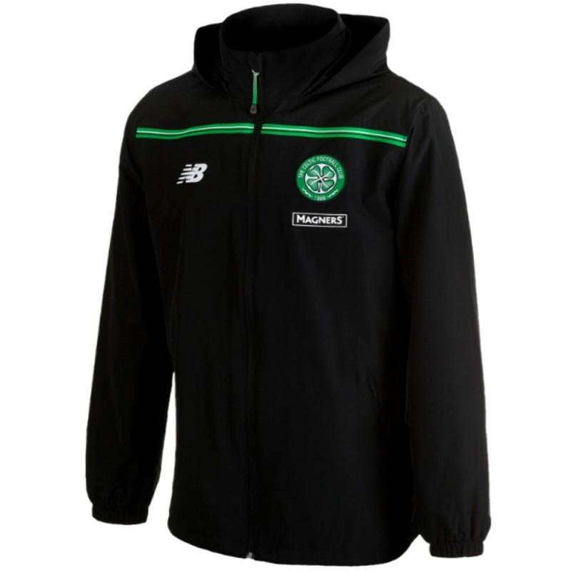 Fermeture /Éclair Coupe-Vent//Imperm/éable th/ème Football Homme Celtic FC Officiel