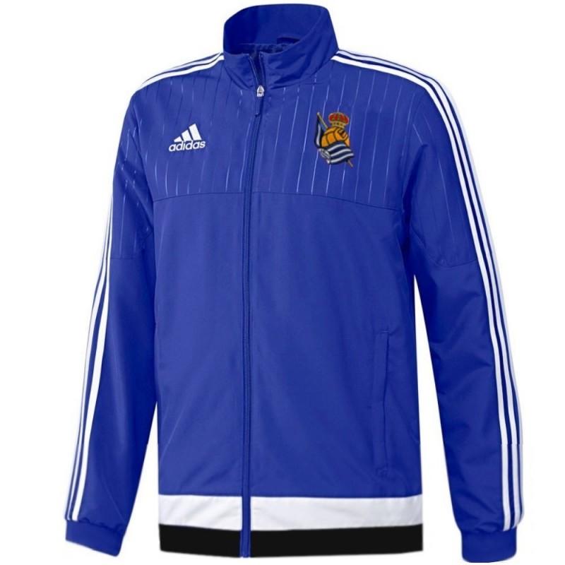 Adidas Chandal Sociedad 201516 Real De Presentacionentreno Pf0qTz