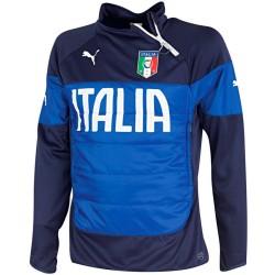 Felpa tecnica allenamento nazionale Italia 2014/15 Mondiali - Puma