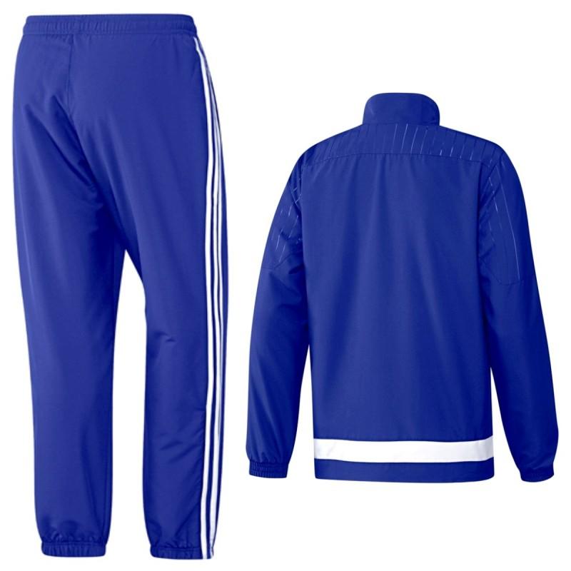 ae55c05f1 ... FC Chelsea blue presentation tracksuit 2015 16 - Adidas ...