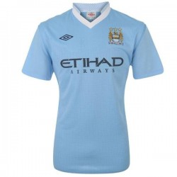 Manchester City Soccer Jersey 2011/12 Home by Umbro