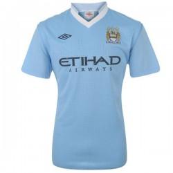 Manchester City Soccer Jersey 2011/12 Inicio por Umbro