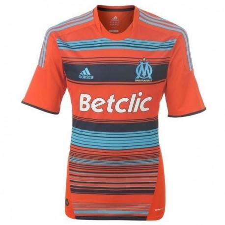 Olympique de Marseille Fußball Trikot 2011/12 dritte-Adidas