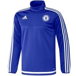Sweat tech top d'entrainement FC Chelsea 2015/16 - Adidas
