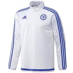 Sudadera tecnica entreno FC Chelsea 2015/16 blanco - Adidas