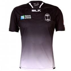 Camiseta Islas Fiyi Rugby World Cup segunda 2015/16 - BLK