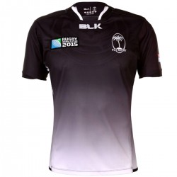 Isole Fiji Rugby World Cup maglia Away 2015/16 - BLK