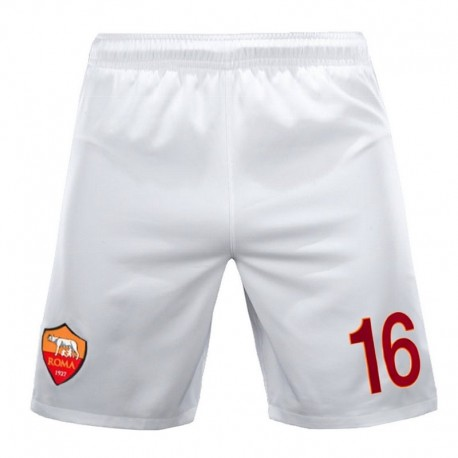 AS Roma Home football shorts 2013/14 De Rossi 16 - Asics