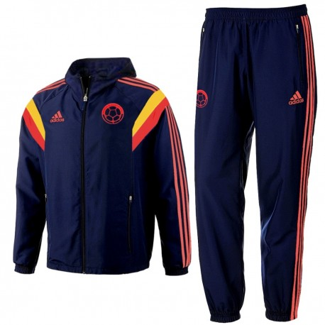 Colombia national team presentation tracksuit 201415 Adidas
