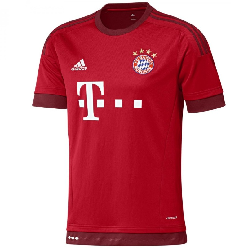 fc bayern münchen home fussball trikot 201516  adidas