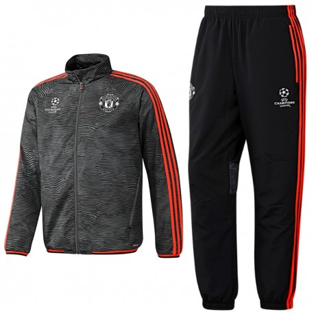 best service fb97a fbf0e Manchester United UCL presentation tracksuit 2015/16 ...
