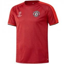 Manchester United training trikot Champions League 2015/16 rot - Adidas