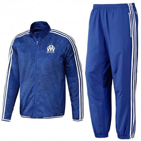Olympique Marseille UCL presentation tracksuit 2015/16 - Adidas