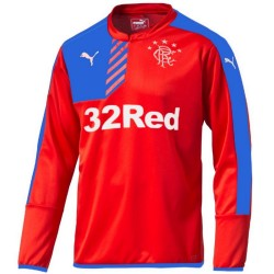 Sweat top entrainement Glasgow Rangers 2015/16 rouge - Puma