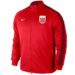 Norway national team presentation N98 jacket 2015 - Nike