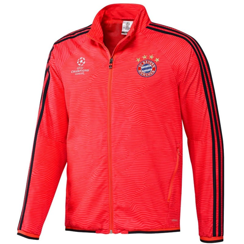 3a98cabaf00 Survetement de presentation Bayern Munich UCL 2015 16 - Adidas ...