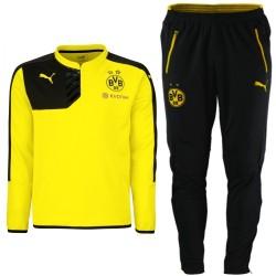 Conjunto entreno BVB Borussia Dortmund 2015/16 amarillo - Puma