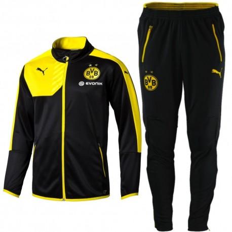 6d12a4141a3f1 Survetement tech d'entrainement Borussia Dortmund BVB 2015/16 - Puma ...