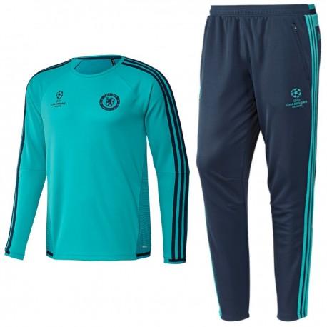 promo code pretty cool 50% price Survetement d'entrainement Chelsea UCL 2015/16 - Adidas ...