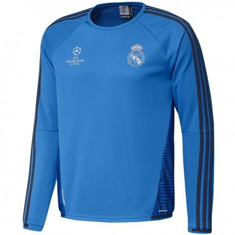 a5bada1df Real Madrid UCL training lightweight sweat top 2015 16 - Adidas ...