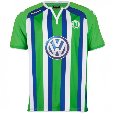 VFL Wolfsburg Away Football shirt 2015/16 - Kappa