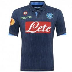 SSC Napoli segunda camiseta Europa League 2014/15 - Macron