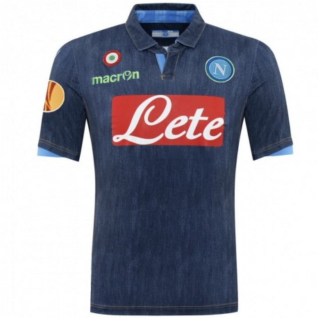 SSC Napoli Europa League Away shirt 2014/15 - Macron