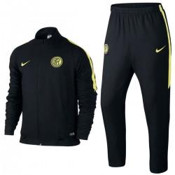 FC Inter schwarz Präsentation Trainingsanzug 2015/16 - Nike