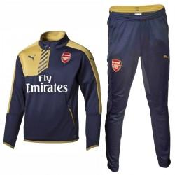 Survetement d'entrainement bleu Arsenal 2015/16 - Puma
