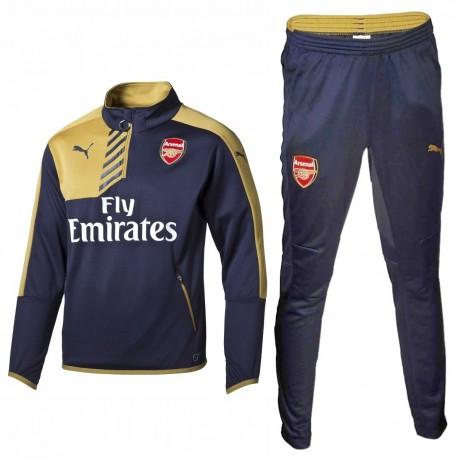 Arsenal FC Trainingsanzug 2015/16 blau -