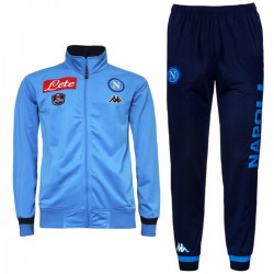 SSC Napoli Player Trainingsanzug 2015/16 sky blue - Kappa