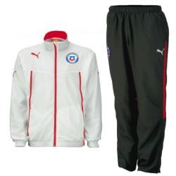 Chile Nationalmannschaft Präsentation Trainingsanzug 2015 - Puma
