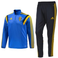 Sweden national team training tracksuit 2015 marine - Adidas