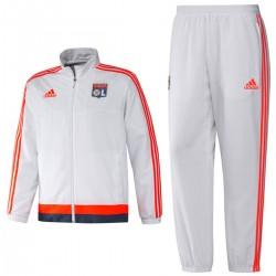 Tuta da rappresentanza bianca Olympique Lione 2015/16 - Adidas