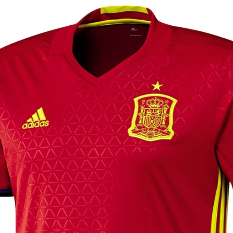 35a2408d293 ... Spain national team Home football shirt 2016/17 - Adidas