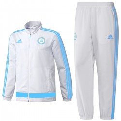 Olympique de Marseille Präsentation Trainingsanzug 2015/16 - Adidas