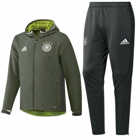 Germany football presentation tracksuit Euro 2016 Adidas