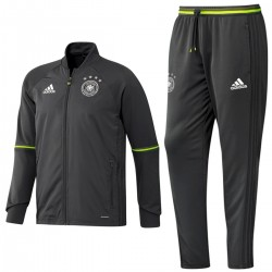 Germany football training tracksuit Euro 2016 grey - Adidas